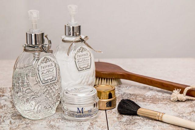 Produits cosmétiques de luxe
